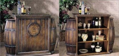Für Die Weinliebhaber Schicke Weinregale Und Ständer Aus Holz