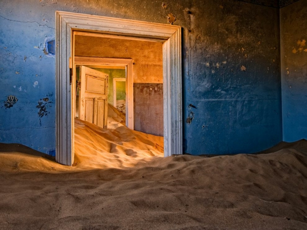 wunder der architektur verlassen in der wüste kolmanskop namibia