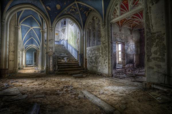 wunder der architektur verlassen und adelig chateau de noisy verwunschen