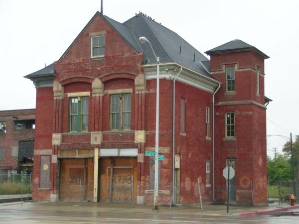 wunder der architektur verlassene häuser in detroit rote ziegel