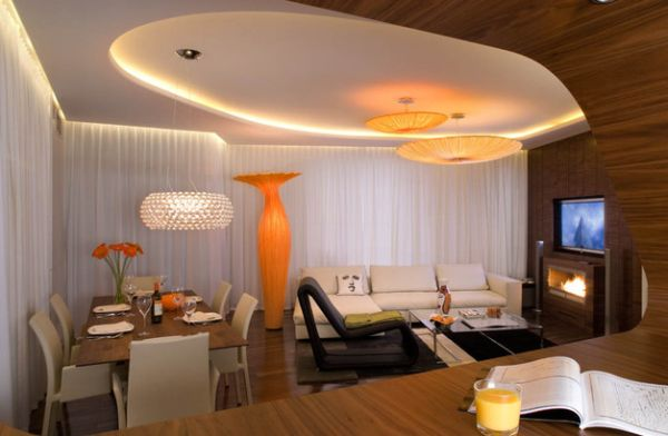 wunderschöne bodenvasen designs orange deckenbeleuchtung