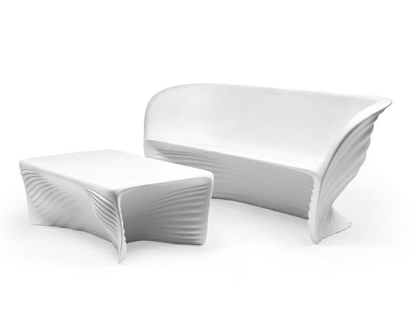 ästhetische möbel sammlung ausstellung schneeweiß sofa tisch