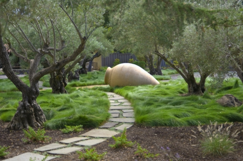 Aus der Wildnis nach Hause fußweg bäume dekoration