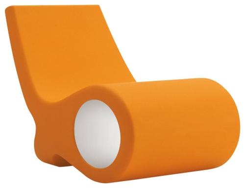 Coole gartenmöbel fisch stuhl die Terrasse liege orange ergonomisch