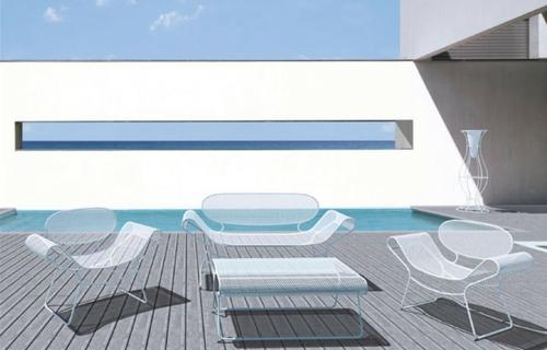 Coole Gartenmöbel für die Terrasse möbelset tisch sessel bank