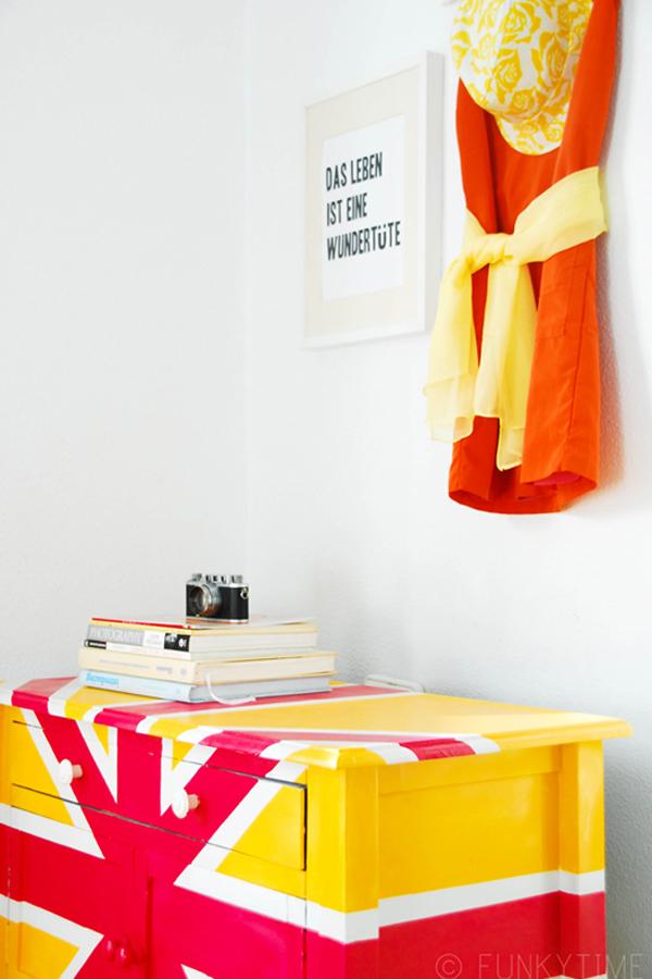 Britisches Fieber DIY dekorative Projekte, von Union Jack