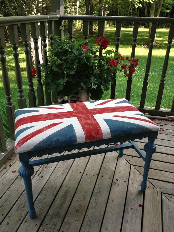 Britisches fieber diy dekorative projekte von union jack for Veranda englisch