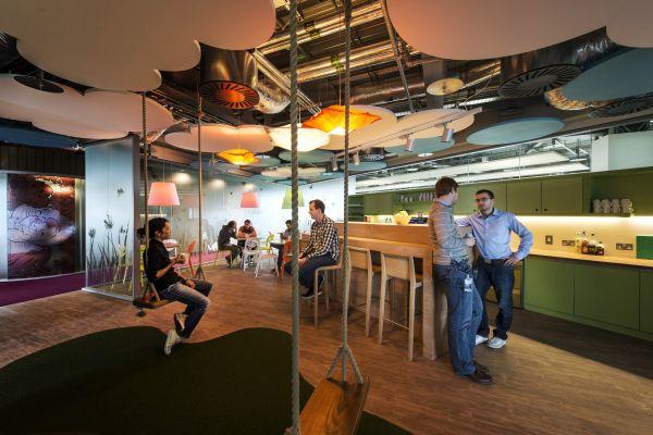 Google Campus Management modern stil design