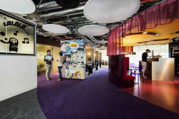 Das neue Google Campus Managment po art deko design