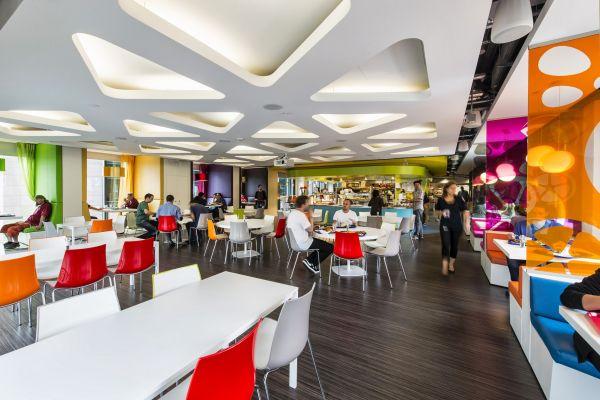 Das neue Google Campus Management versammlung interieur