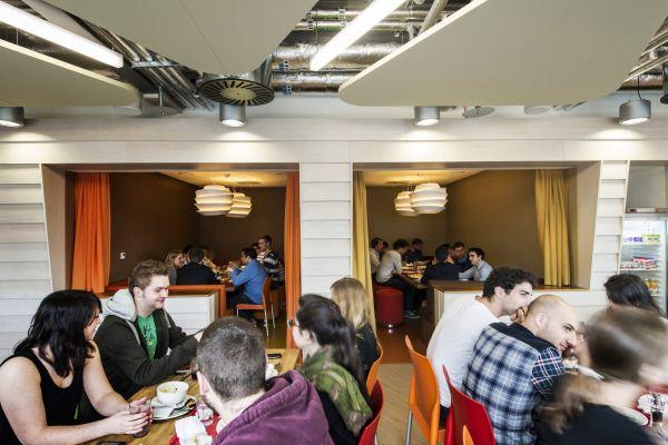 Das neue Google Campus Management versammlung restaurant