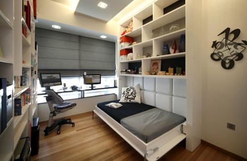 SpielkUche Holz Mit Funktion ~ Sogar Etagenbetten sind aufklappbar So brauchen Sie keine Fläche