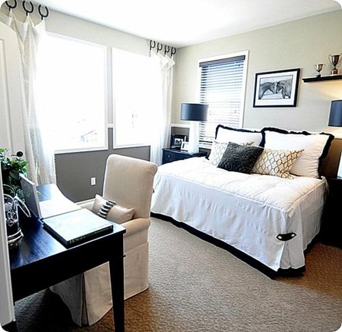 Deko Ideen fürs Gästezimmer schlafzimmer klassisch gemütlich