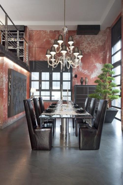 Der Bonsai Baum im Interior Design klassisch einrichtung kronleuchter