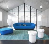 Designer Möbel Sammlung von Roche Bobois Herbst / Winter 2013