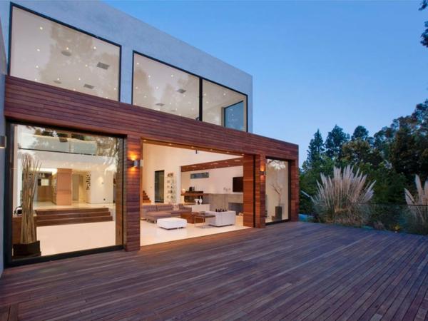 Eine herrliche immobilie eleganz außenbereich hof