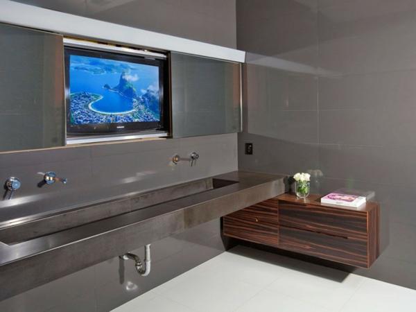 Eine herrliche Residenz eleganz badezimmer dunkel ambiente