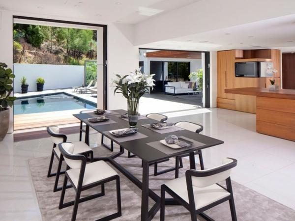 Eine herrliche Residenz essbereich küche raum