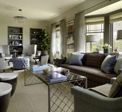 gem tliches wohnzimmer einrichten gro e wohnfl chen gestalten. Black Bedroom Furniture Sets. Home Design Ideas