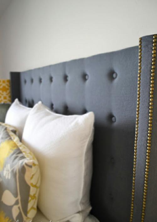 gepolsterte kopfteile zum selbermachen thematische tipps und bilder. Black Bedroom Furniture Sets. Home Design Ideas