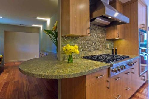 Granitplatten in hervorragenden Küchen narzissen kochplatte essecke