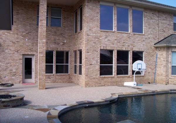 High-Tech Fensterfolien außenbereich haus architektur pool