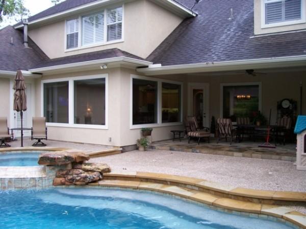 High-Tech Fensterfolien für Ihr Haus außenbereich integriert wasseranlage