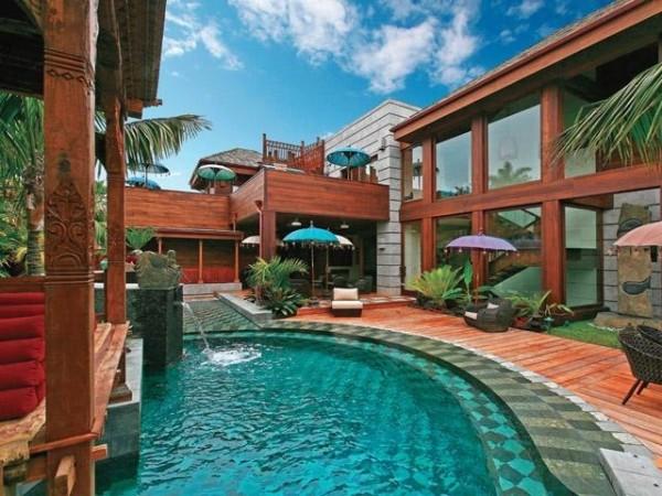 High-Tech Fensterfolien für Ihr Haus pool hinterhof holz fußboden
