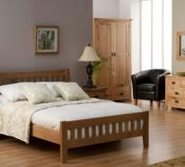 Holzmöbel für ein schönes Schlafzimmer Design