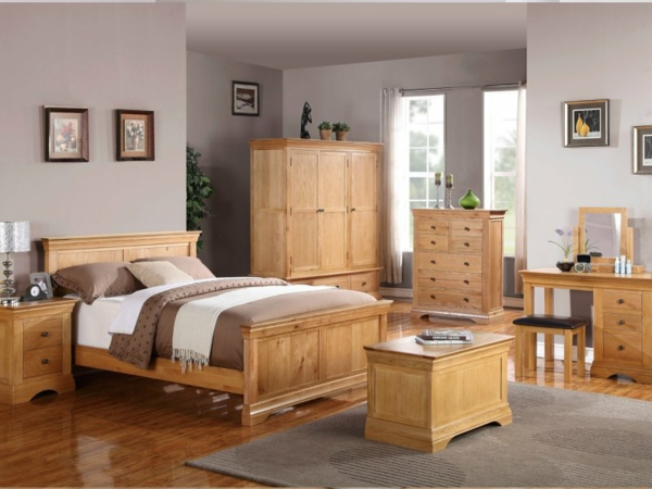oak contemporary bedroom furniture holzm 246 bel f 252 r ein sch 246 nes schlafzimmer design 16542