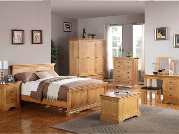 Holzmöbel ein schönes Schlafzimmer Design eichen