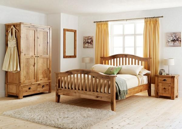 Holzmöbel ein schönes Schlafzimmer Design kleiderschrank