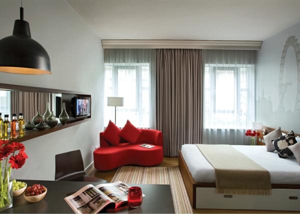 Interior Design im französischen Stil wohnbereich schlafzimmer