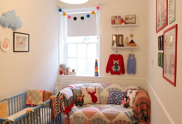 Kinderzimmer Einrichtung mit skurrilem Stil babybett kette dekorativ