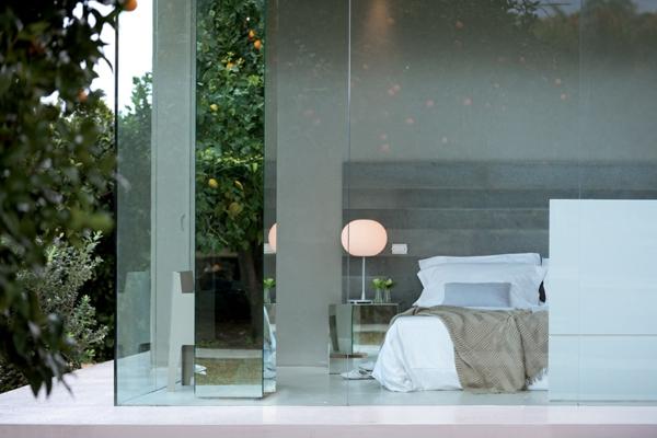 Klassische Architektur und modernes Hotel Design glaswände originell