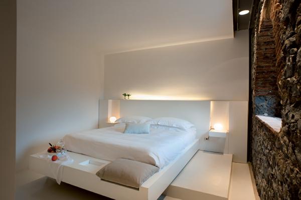 Klassische Architektur und modernes Hotel Design schlafzimmer weiß