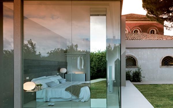 Klassische Architektur und modernes Hotel Design schlafzimmer