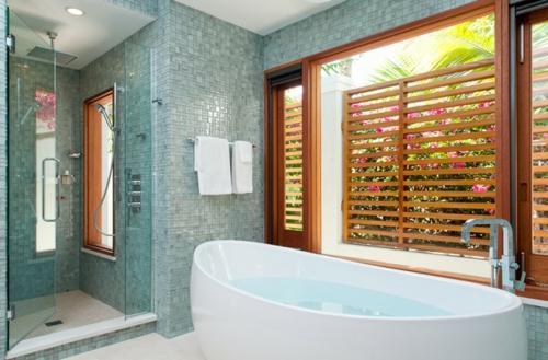 Komponente der Renovierung zu Hause badewanne fliesen wand duschkabine