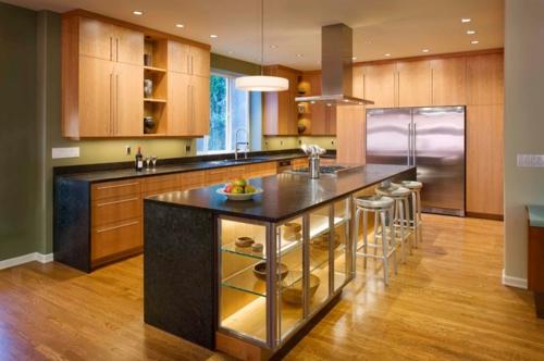 Komponente der Renovierung zu Hause essbereich küche arbeitsplatte spüle