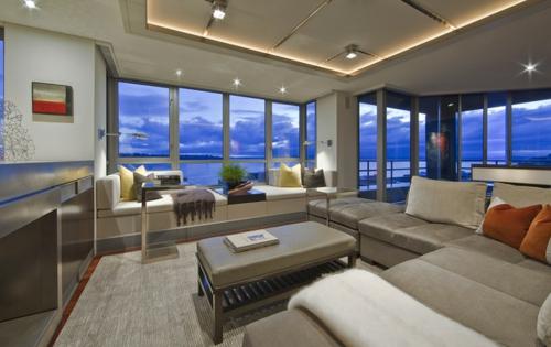 Beautiful Moderne Renovierung Wohnzimmer Pictures - Barsetka.Info