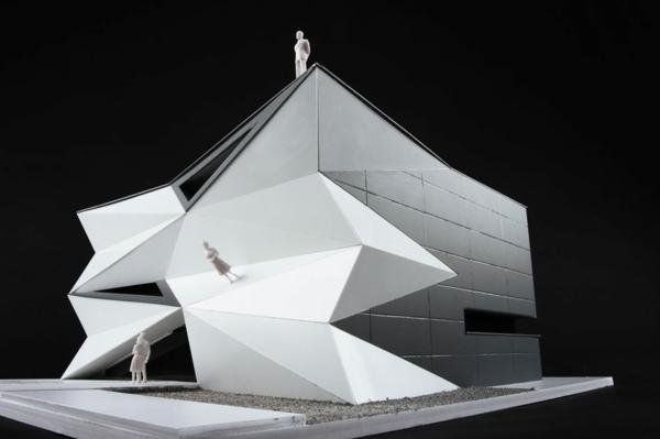 Kulturzentrum und Sportzentrum 3D modell