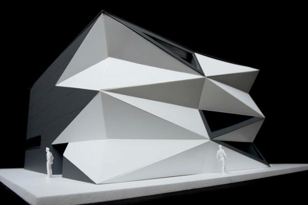Kulturzentrum und Sportzentrum 3D muster