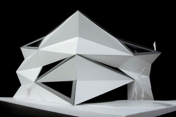 Kulturzentrum und Sportzentrum baustelle darstellung 3D modell