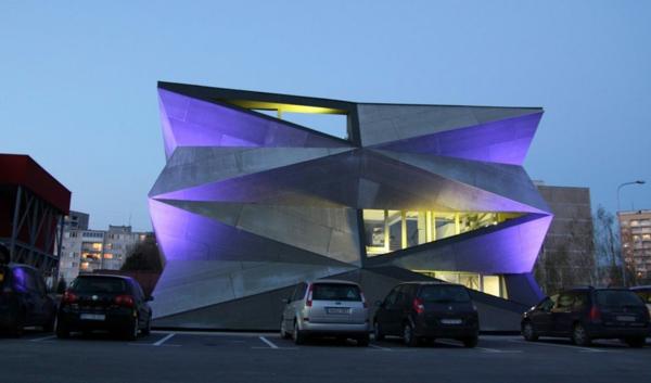 Kulturzentrum  Sportzentrum beleuchtung außendesign