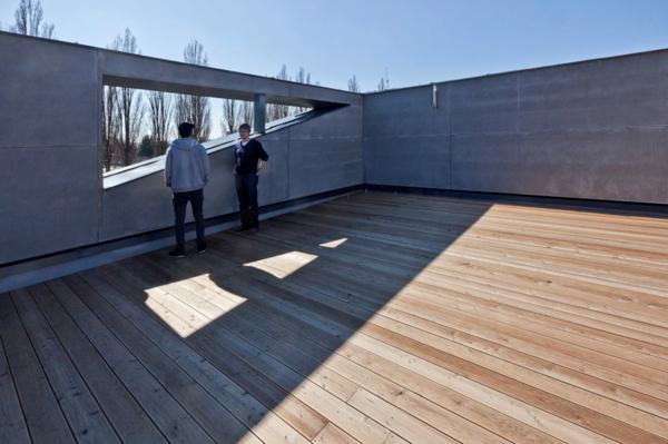 Gebäude in der slowakei ein kulturzentrum und sportzentrum zugleich