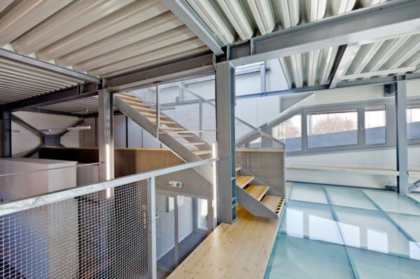 Kulturzentrum  Sportzentrum design treppe