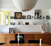 Gestalten Sie Ihre Kunstgalerie Mit Bilderrahmen An Der Wand