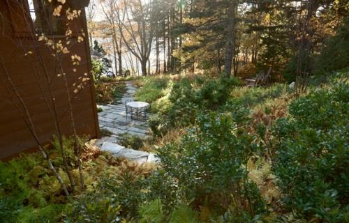 Landschaftsarchitektur mit nachhaltig gewonnenem Holz