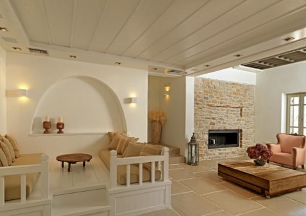 Themonies luxus designer wohnungen in folegandros for Luxus einrichtung