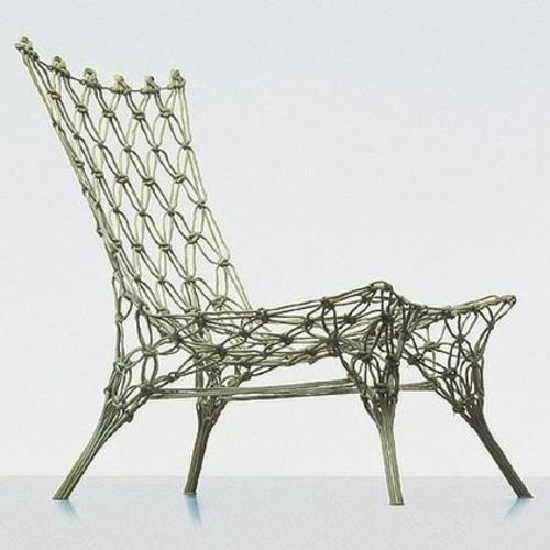 Makramee Dekoration stuhl knoten originell design